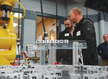 Waukesha County Technical College recently doubled the amount of space dedicated to robotics with the opening of a new Integrated Manufacturing Center.