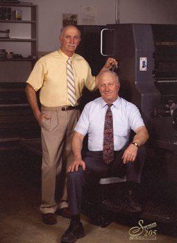 Noel and Zane Zander (seated) – third-generation owners