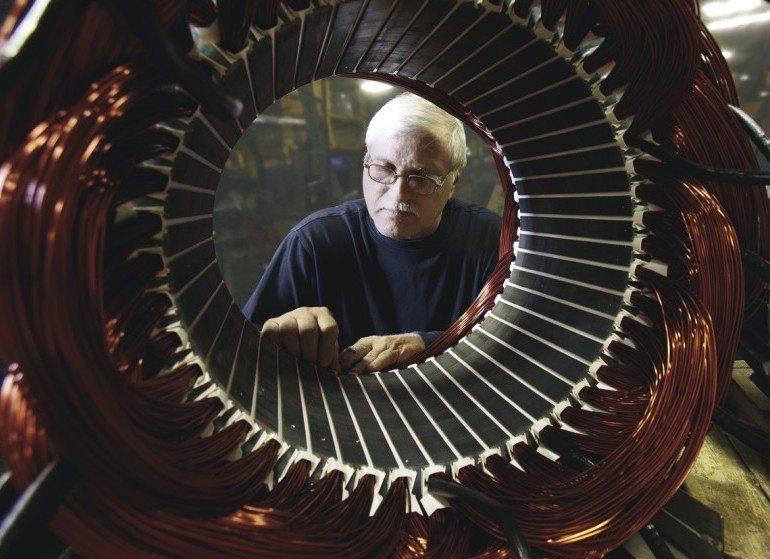 Kohler alternator assembly