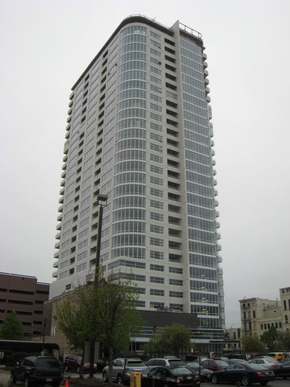 The Moderne development is one of the last time new condos have been added to downtown Milwaukee.