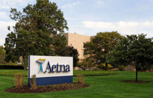 Aetna Inc. headquarters in Hartford, Connecticut. Photo by Katherine Welles/Shutterstock.com.
