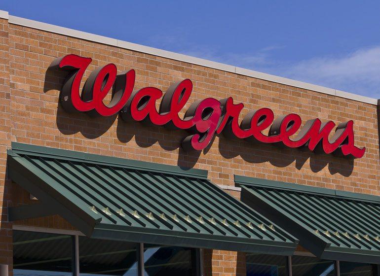 Walgreens. Photo courtesy of Shutterstock.