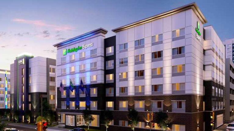 Now: Work underway for three-hotel development downtown