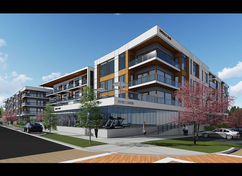 Parterre at Emerald Row. (Rendering: Rinka)