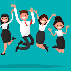 Happy employees are more productive: Seven ways to make them feel more engaged