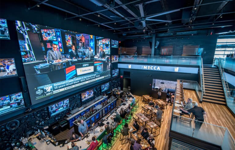 BizLunch: The MECCA Sports Bar and Grill