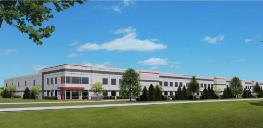 A rendering of the new Illing Co. building in Germantown