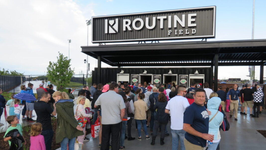 Routine Baseball lawsuit alleges signage was put up without approval