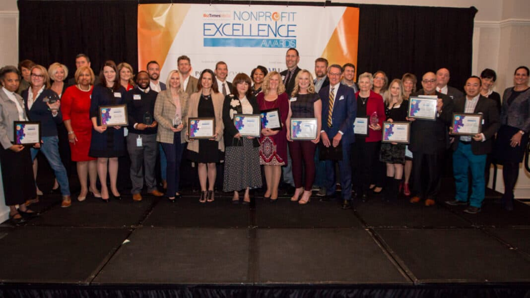 2018 Nonprofit Excellence Awards winners