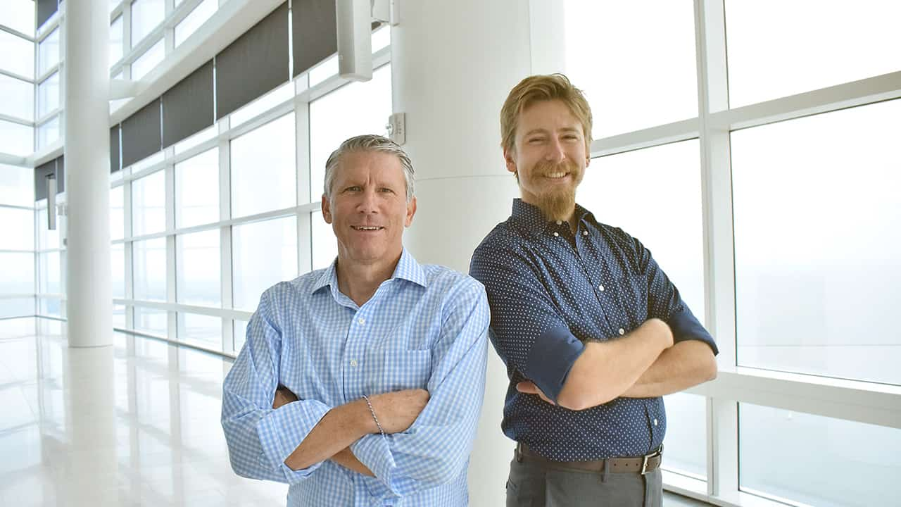 Larry Hitchcock and Matthew Salzer of Socialeads