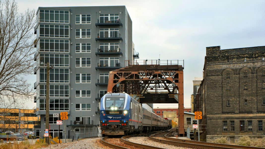 Improving the connection: Work ongoing to enhance rail service from Milwaukee to Chicago