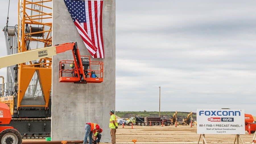 Foxconn vertical construction