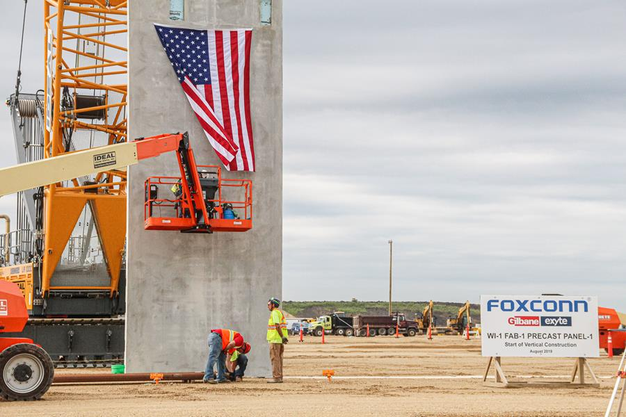 Foxconn vertical construction