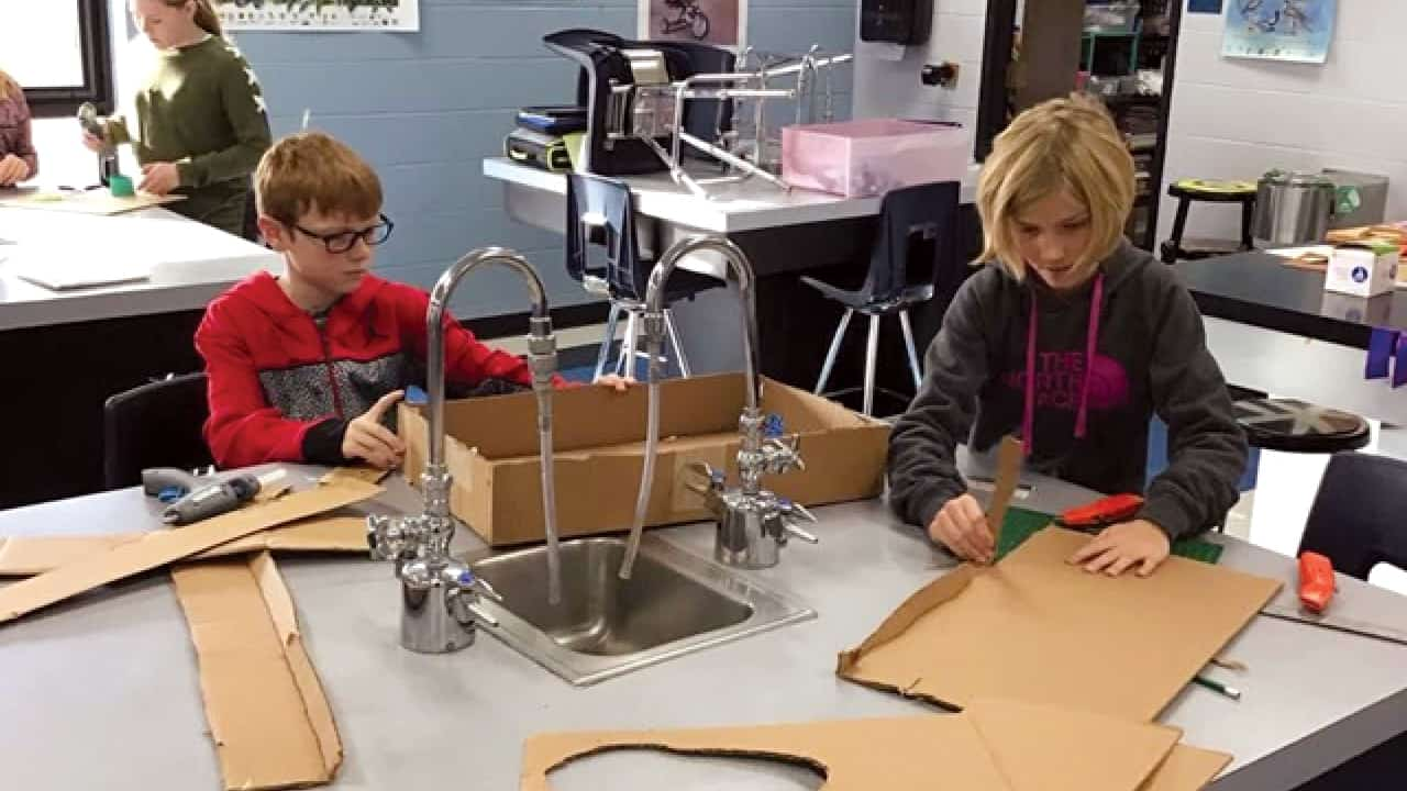 Project Lead The Way (PLTW) at local school reaches every student
