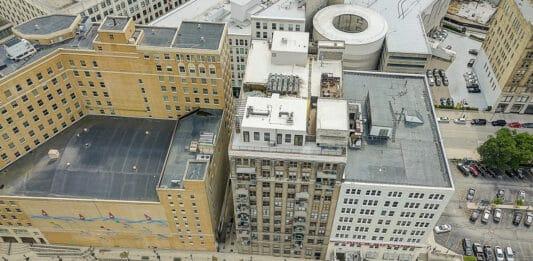 Riverfront Lofts building.