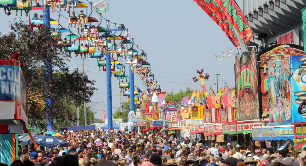 The 2019 Wisconsin State Fair set a new attendance record for the event.