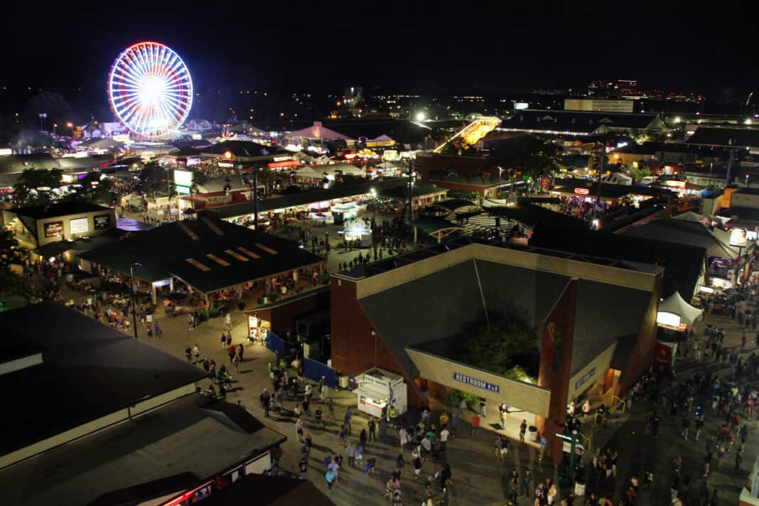 Last night of the 2019 Wisconsin State Fair
