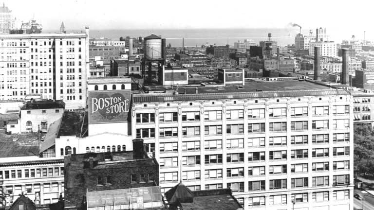 Glance at yesteryear: Downtown view