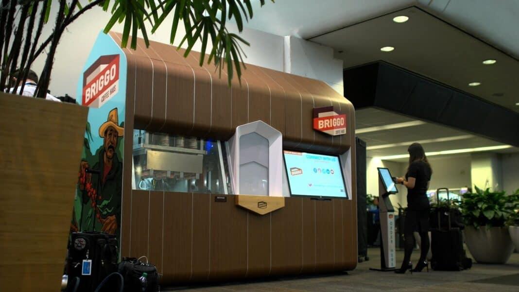 Foxconn will build Briggo Coffee Hauses