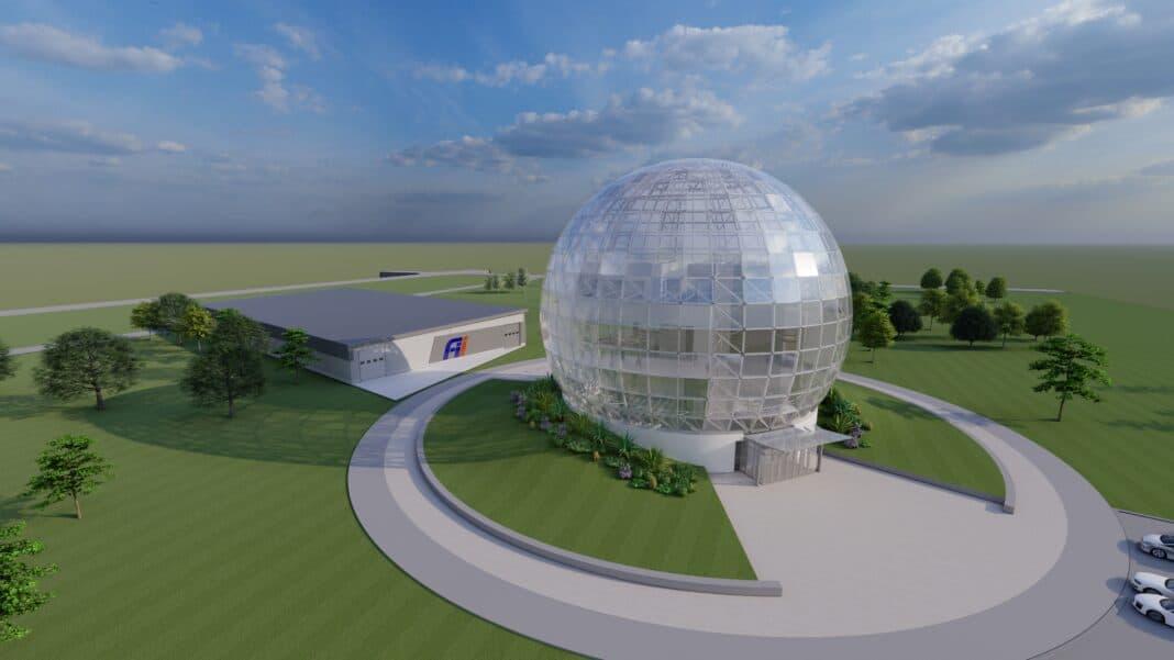 Foxconn data center rendering