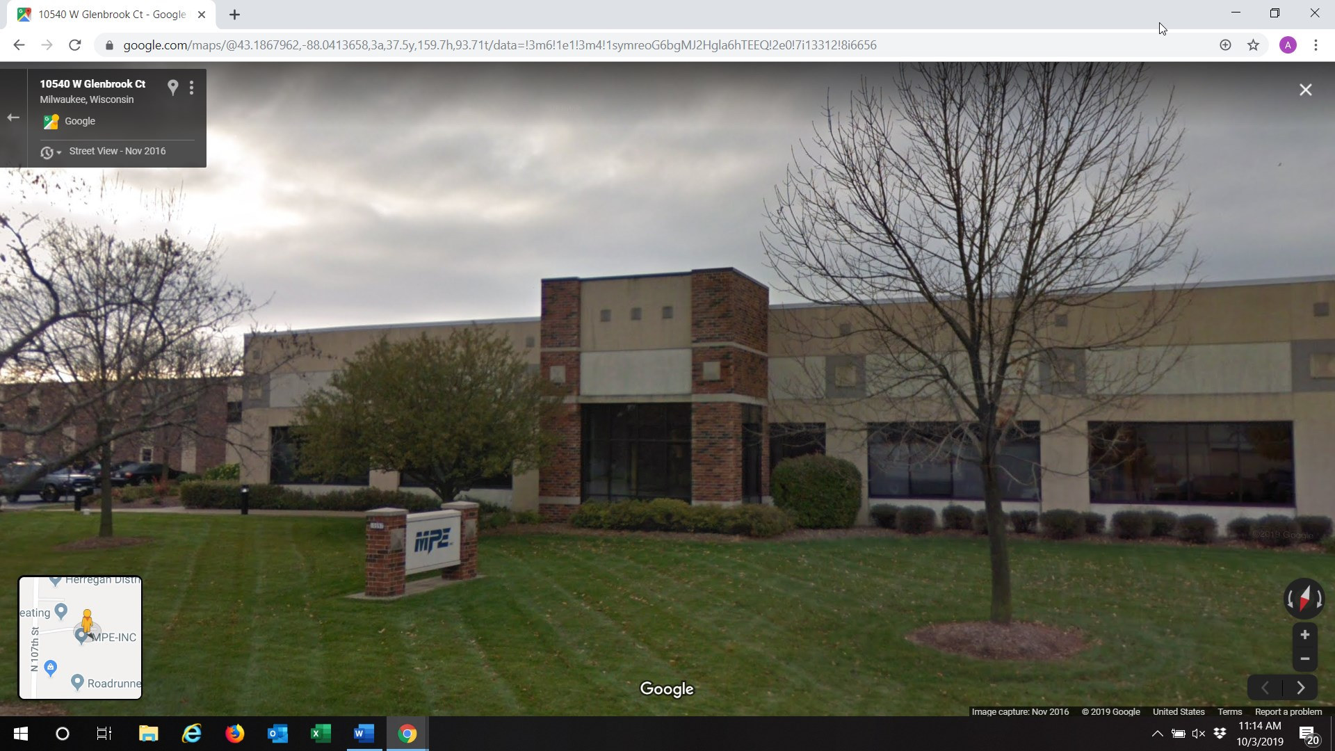 MPE building. Image from Google.