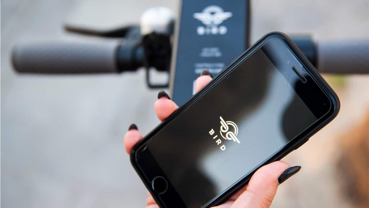 Uber ride app