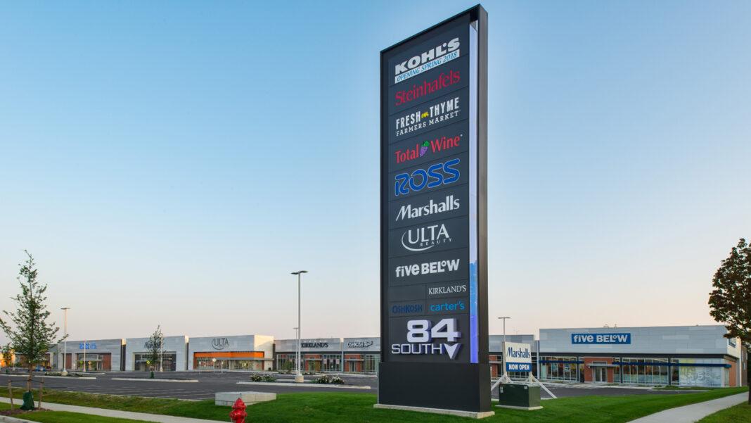 84South retail buildings. Photo courtesy of Cobalt Partners LLC.