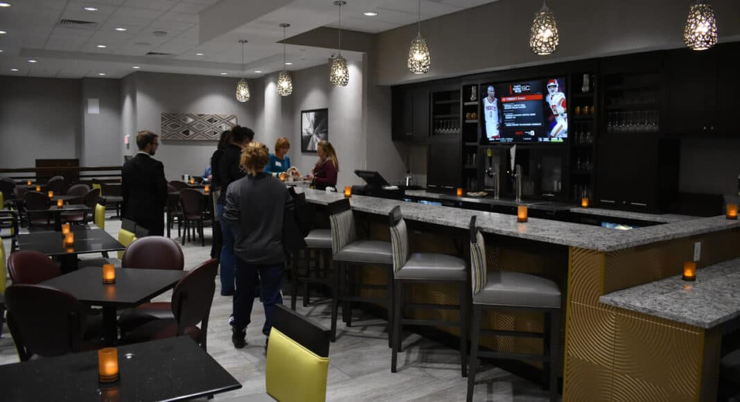 Drury bar area.