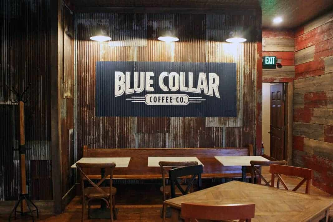Blue Collar Coffee Co.'s new location in Delafield.