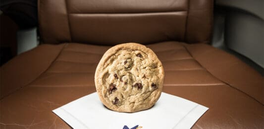 Midwest Express cookie