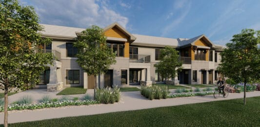 Rendering of the Tivoli Green apartments in Mount Pleasant. Credit: AG Architecture