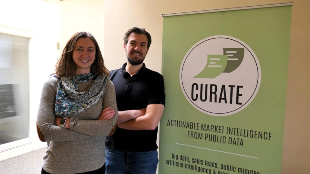 Chief executive officer and co-founder Taralinda Willis and chief technology officer and co-founder Dale Willis founded Curate in 2016.