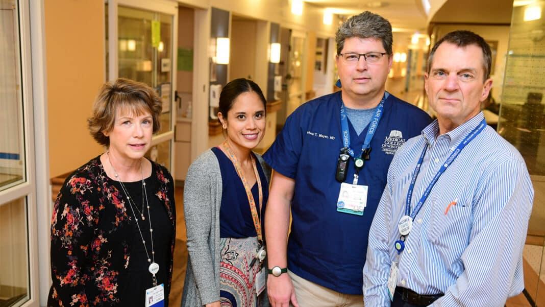 Dr. Lynn D'Andrea, Dr. Louella Amos, Dr. Michael Meyer and Dr. Michael Gutzeit of Children's Wisconsin