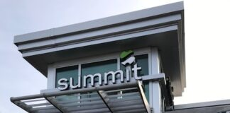 Summit Credit Union's new Mount Pleasant branch is located at at 6025 Durand Ave. Photo courtesy of Summit Credit Union.