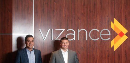 Vizance vice president Dimas Ocampo and president Jeff Cardenas.